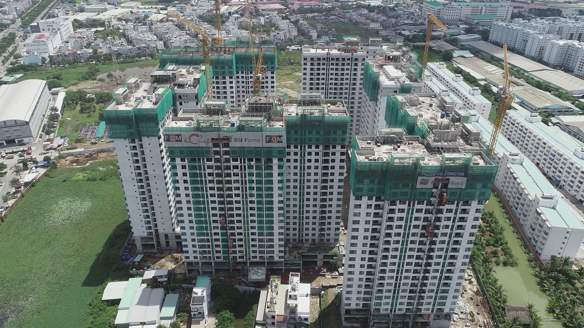 Cập nhật tiến độ xây dựng Akari City