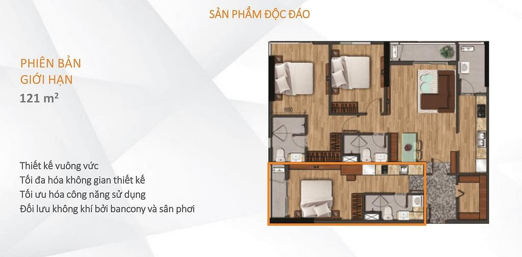 căn hộ akari city dual key 121 m2